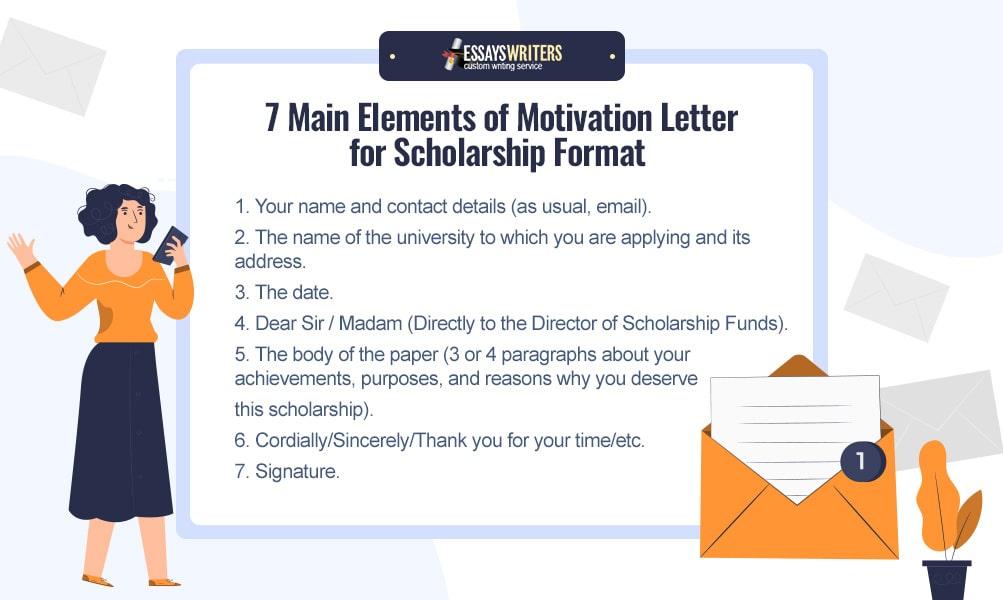 7 Elements of Motivation Letter for Scholarship Formatting