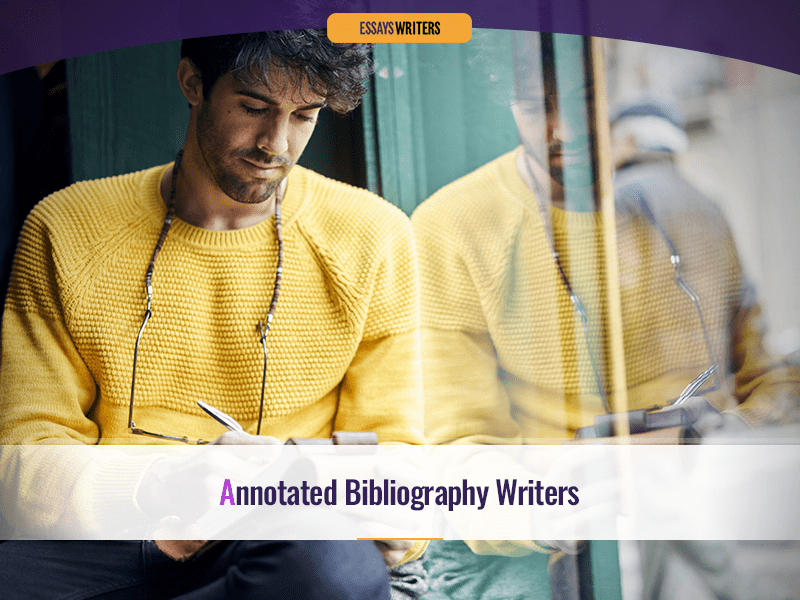 Annotated Bibliography Writers