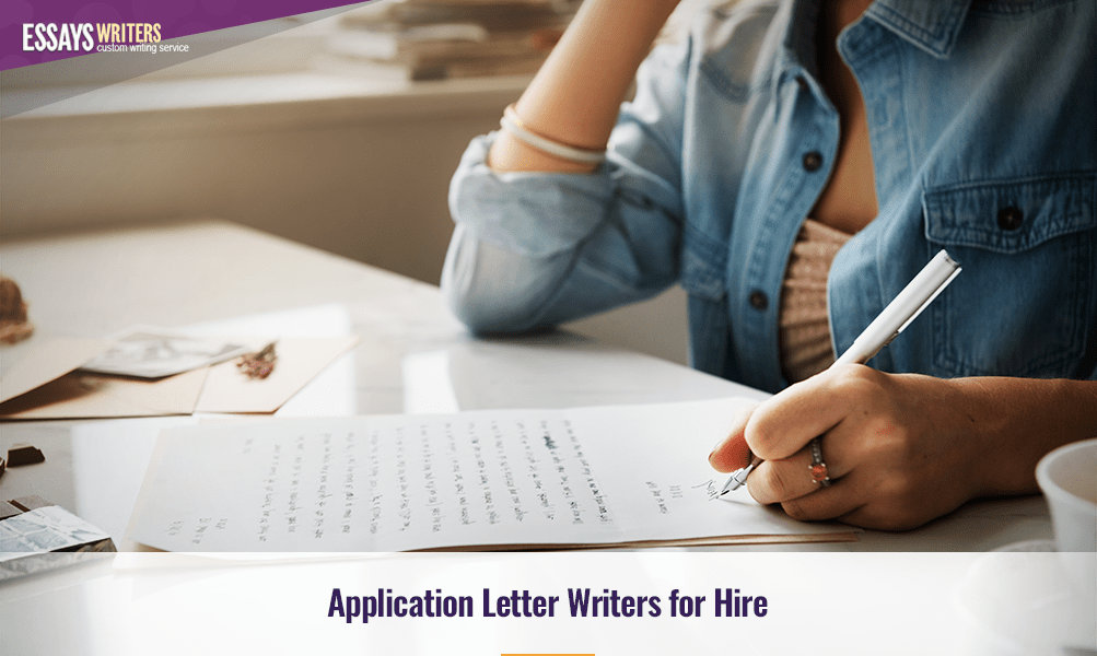 Application Letter Writers for Hire