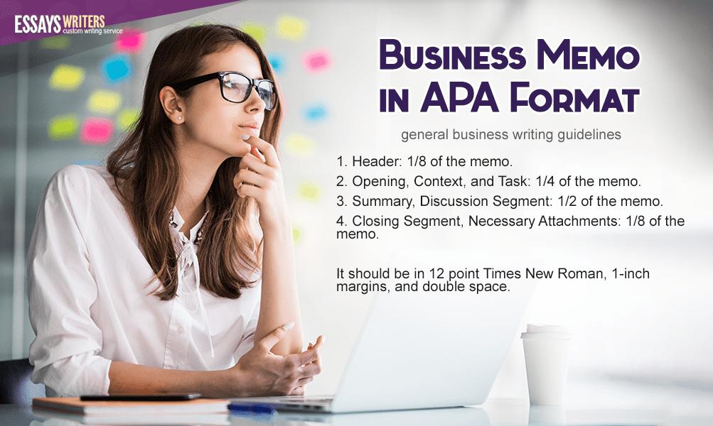 Business Memo in APA Format