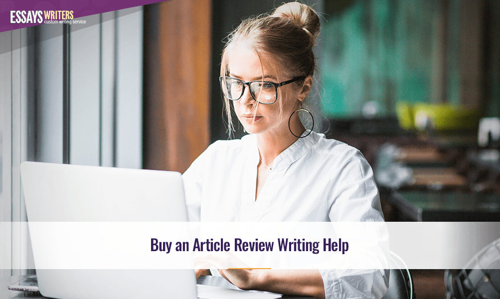 Buy an Article Review Writing Help