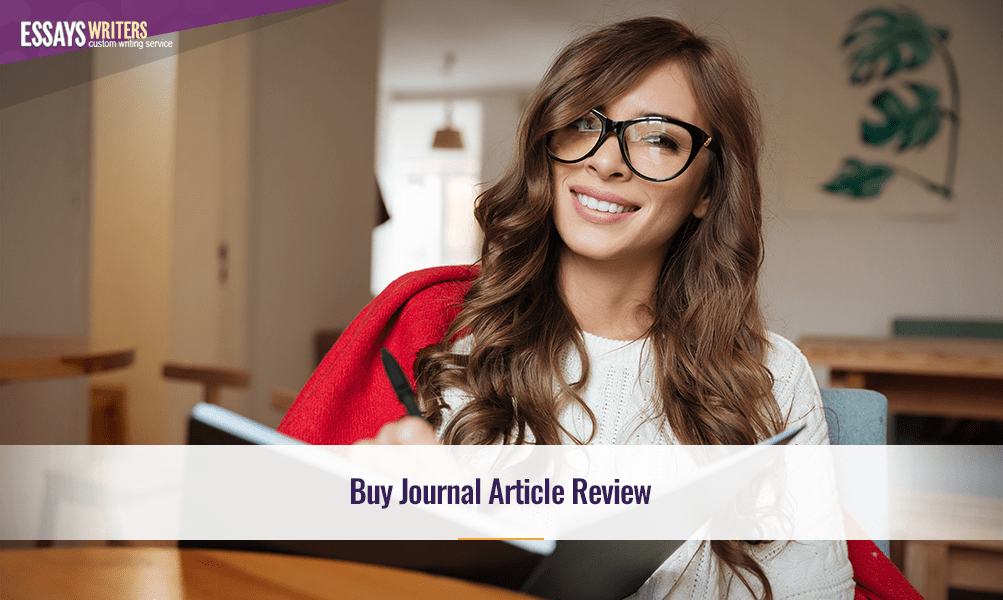 Buy Journal Article Review
