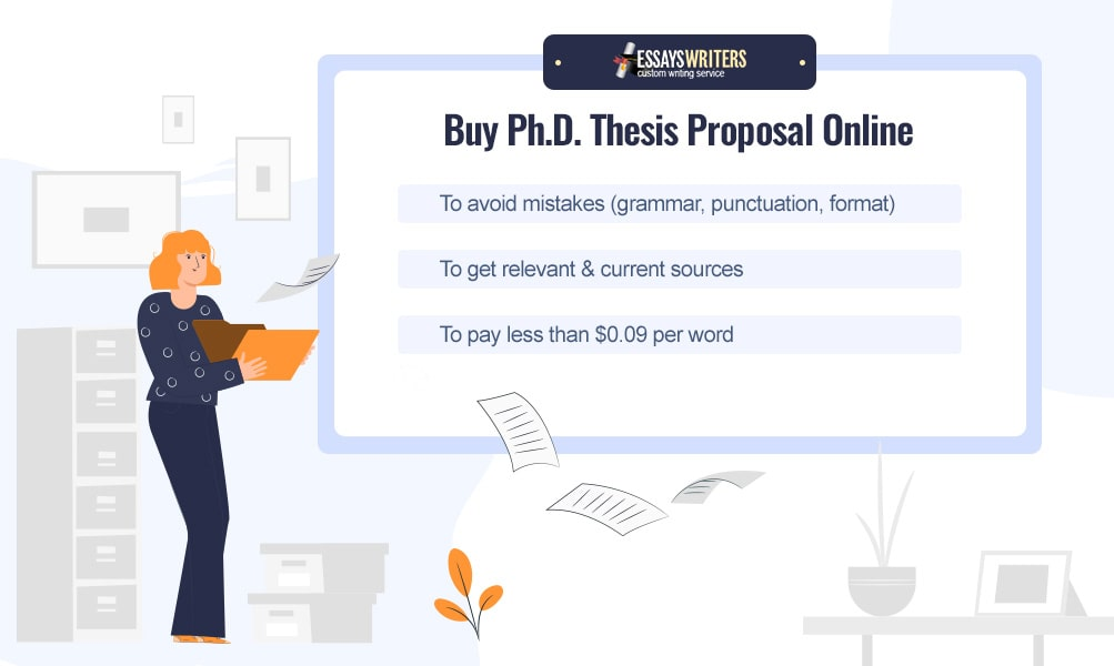 Buy Ph.D. Thesis Proposal Online