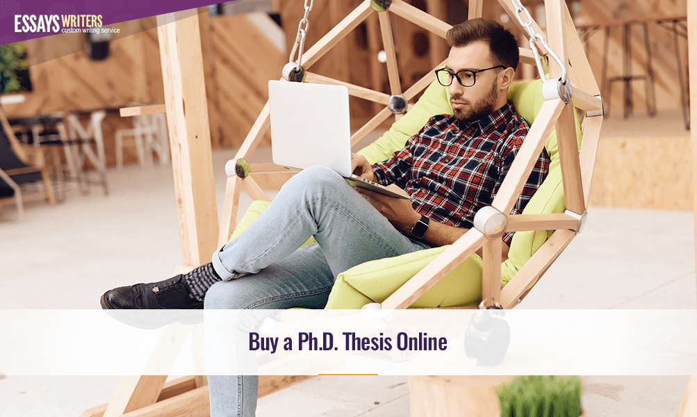 Buy a Ph.D. Thesis Online