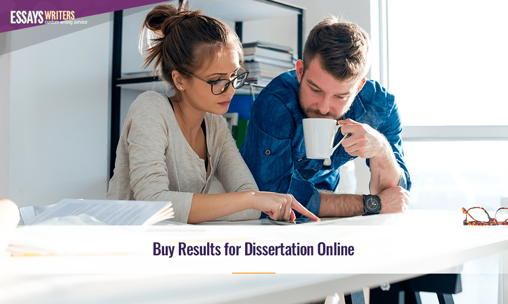Buy Results for Dissertation Online