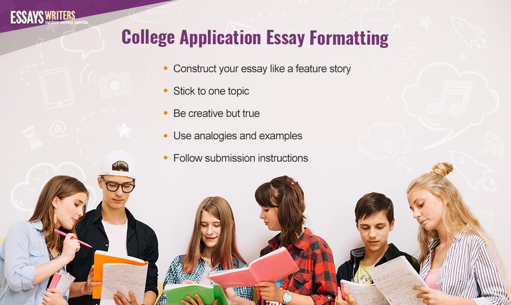 College Application Essay Formatting