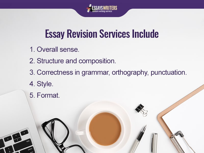 Premier Essay Revision Services Include