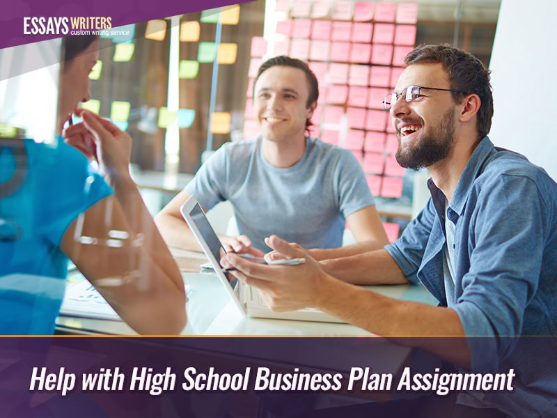 Help with High School Business Plan Assignment