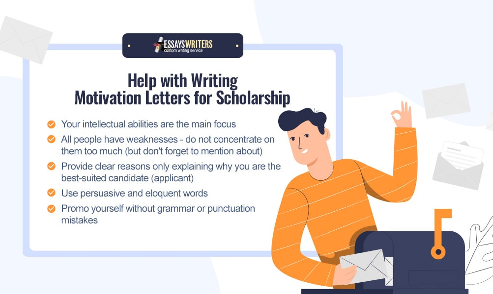 Help with Writing a Motivation Letters for Scholarship