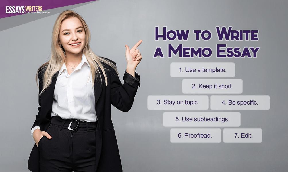 How to Write a Memo Essay