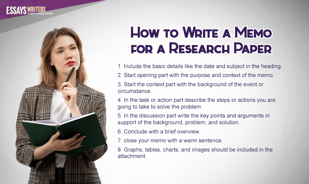 How to Write a Memo for a Research Paper