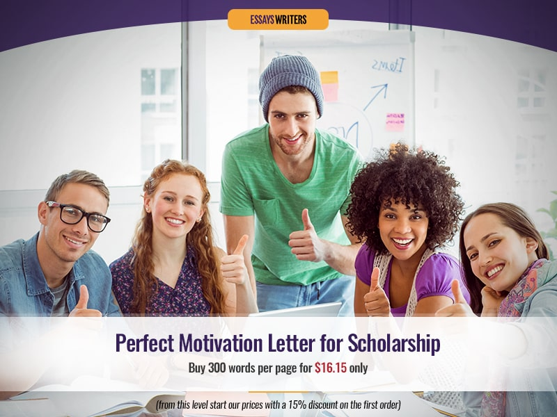 Perfect Motivation Letter for Scholarship