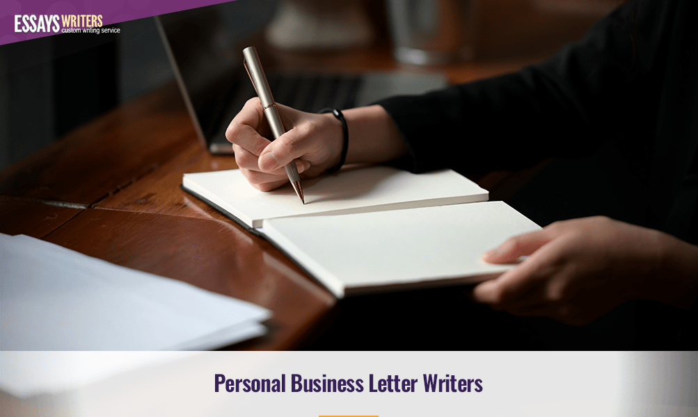 Personal Business Letter Writers