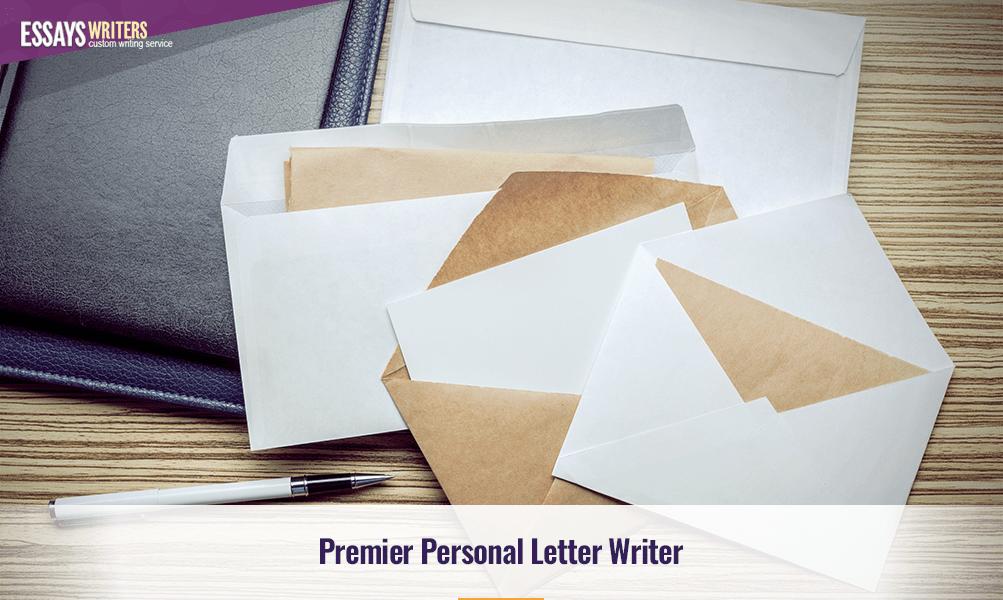 Premier Personal Letter Writer