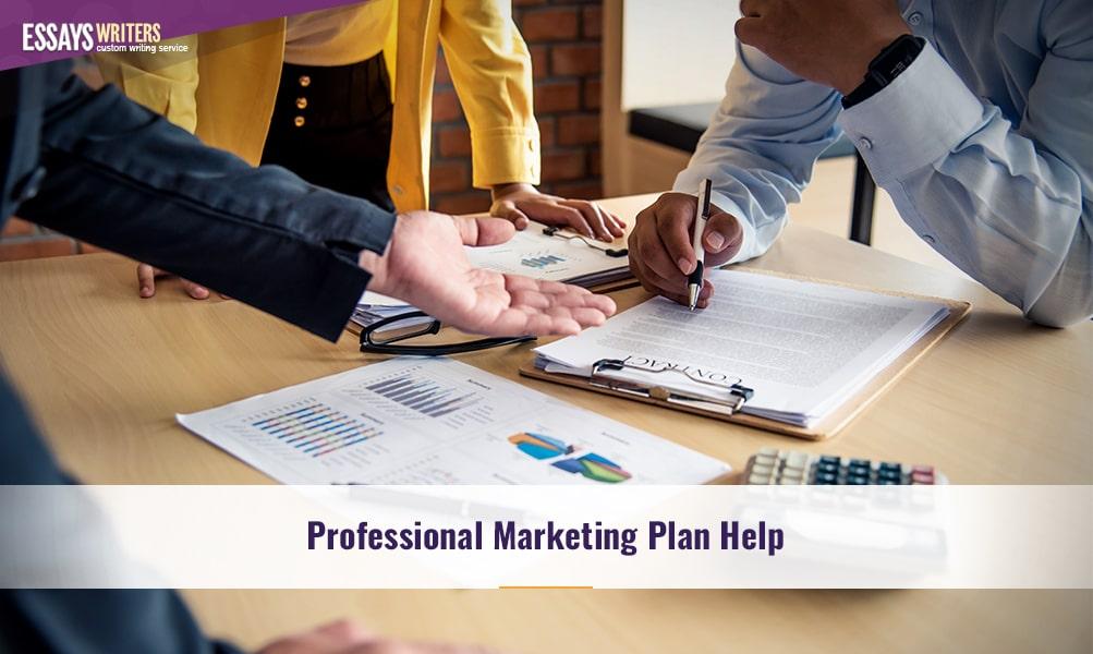 Professional Marketing Plan Help
