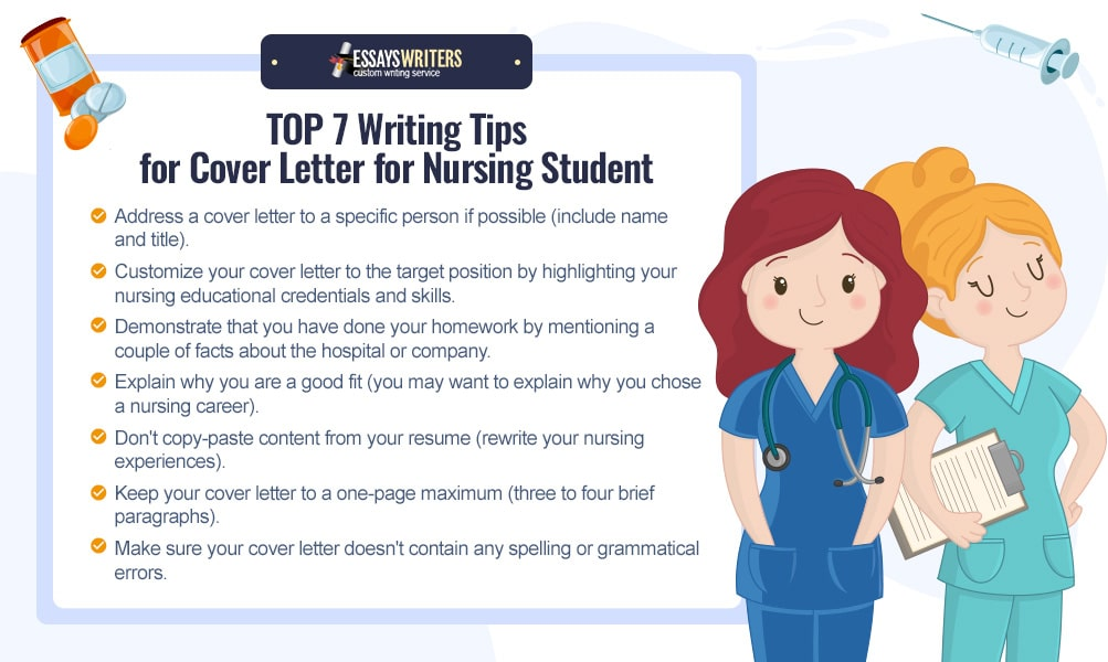 TOP 7 Writing Tips for Cover Letter Writing for Nursing Student
